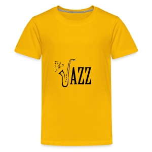 Jazz Shirt for Musicians - Cool Music Lovers shirt - Kids' Premium T-Shirt