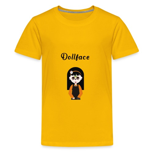 Dollface Mexican Day of The Dead Cinco De Mayo - Kids' Premium T-Shirt