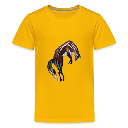 Ghost Fox - Kids' Premium T-Shirt