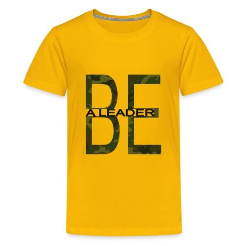BE A LEADER CAMO - Kids' Premium T-Shirt