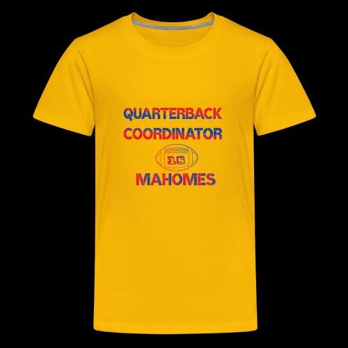mahomes QurterBack Coordinator Patrick Legend KC - Kids' Premium T-Shirt