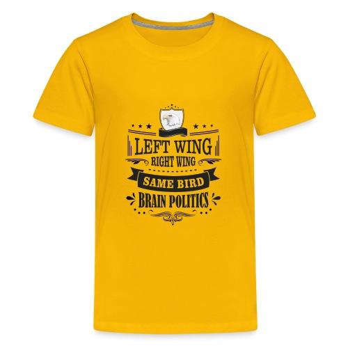Left Wing Right Wing Same Bird - Kids' Premium T-Shirt