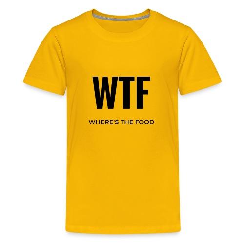 Where's the food - Kids' Premium T-Shirt