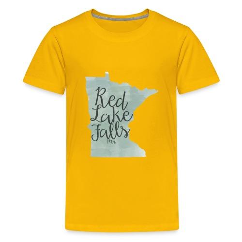 Red Lake Falls Long Sleeve Shirt - Kids' Premium T-Shirt