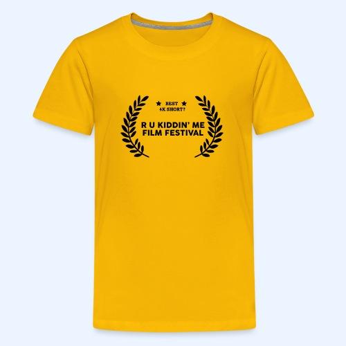 Film Festival Winner : Best 4K Short - Kids' Premium T-Shirt