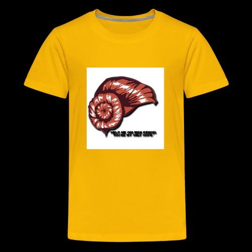 Princess Leia Hair - Kids' Premium T-Shirt