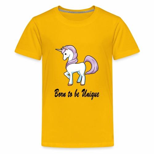 Born to be Unique - Kids' Premium T-Shirt