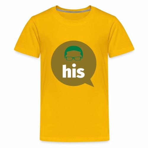 His and Hers Unit Shirt - Kids' Premium T-Shirt