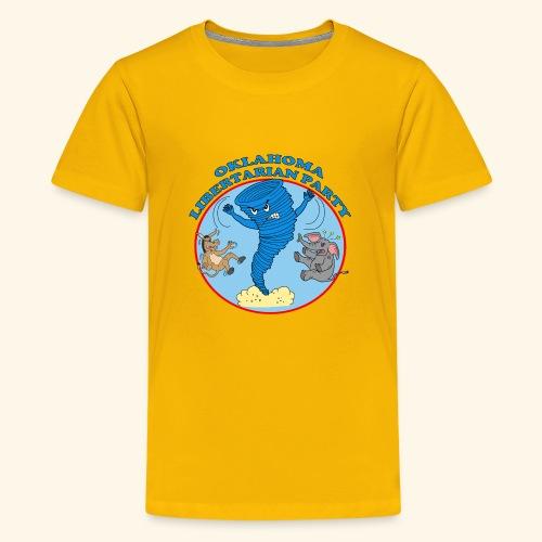 Oklahoma Libertarian - Kids' Premium T-Shirt
