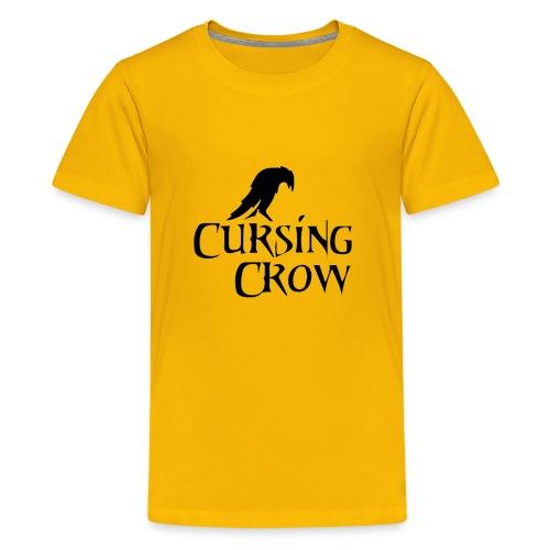 Cursing Crow Logo - Kids' Premium T-Shirt