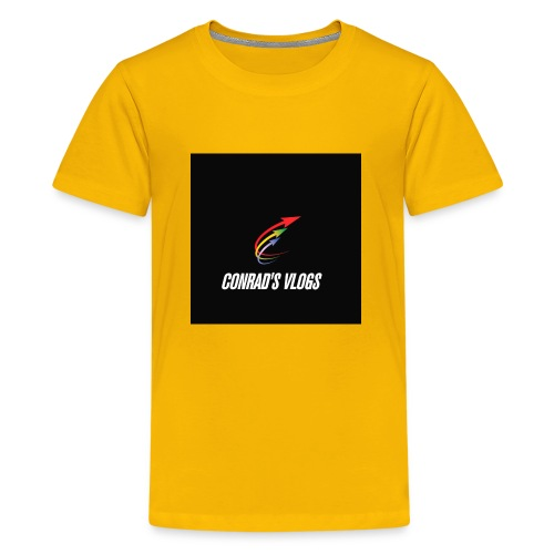 Conrad's vlogs t-shirt - Kids' Premium T-Shirt