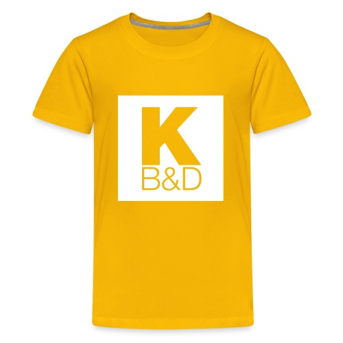 KBD_White - Kids' Premium T-Shirt
