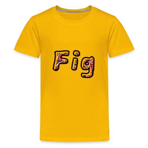 Fig Logo - Kids' Premium T-Shirt
