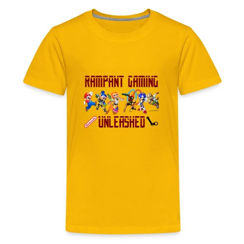 Rampant Gaming Unleashed - Kids' Premium T-Shirt