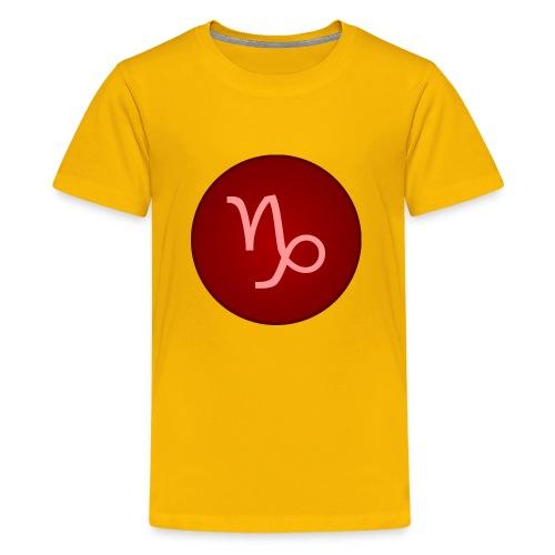 Capricorn Symbol - Kids' Premium T-Shirt