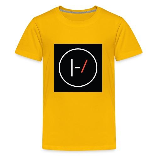 Twenty one pilots Blurryface pin - Kids' Premium T-Shirt