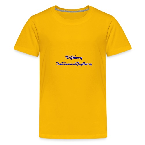 TDGHenryTheDiamondGuyHenry - Kids' Premium T-Shirt