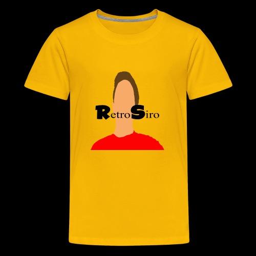 RetroSiro face - Kids' Premium T-Shirt