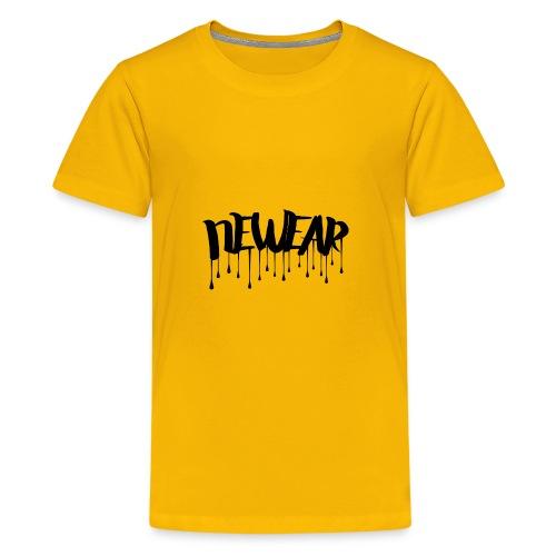 NEWEAR Logo BLACK - Kids' Premium T-Shirt