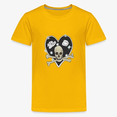 Pirate heart - Kids' Premium T-Shirt