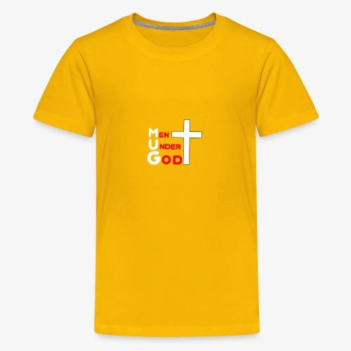 MUG Men Under God without coffee mug - Kids' Premium T-Shirt