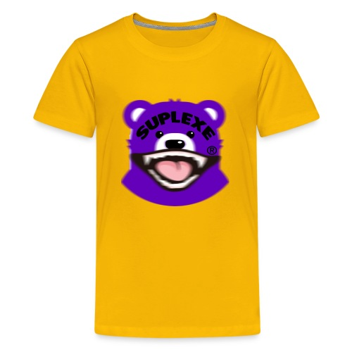 PURPLE {BLUR} BE@R x BADGER TEE - Kids' Premium T-Shirt