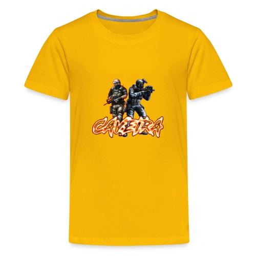 CF CAVEIRA STYLE - Kids' Premium T-Shirt