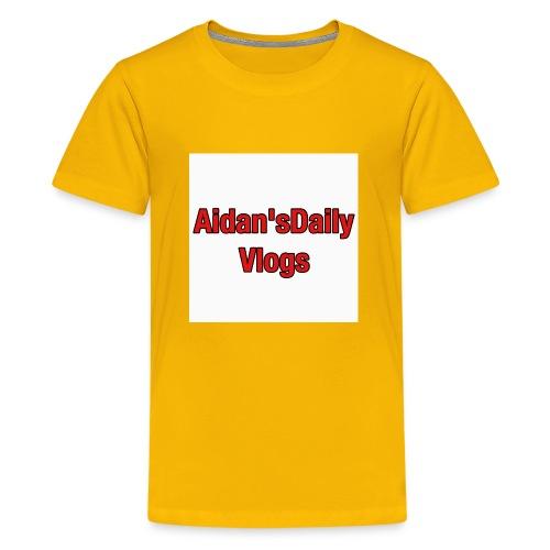 Aidan'sDailyVlogsTshirts - Kids' Premium T-Shirt