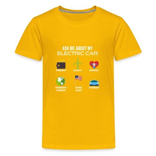 Electric Vehicle Tee Shirt - Kids' Premium T-Shirt