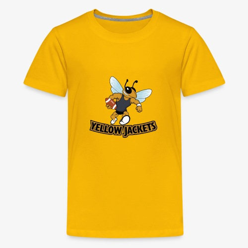 Yellow Jacket Football - Kids' Premium T-Shirt