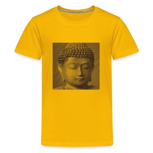 The Face of Buddha - Kids' Premium T-Shirt