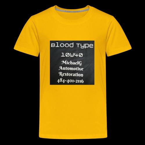 Blood Type - Kids' Premium T-Shirt