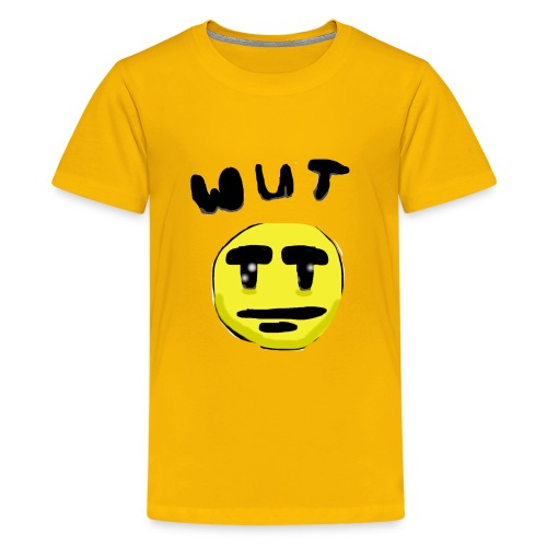 Wut Face - Kids' Premium T-Shirt