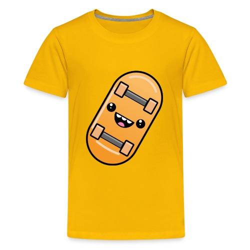 skateboard face - Kids' Premium T-Shirt