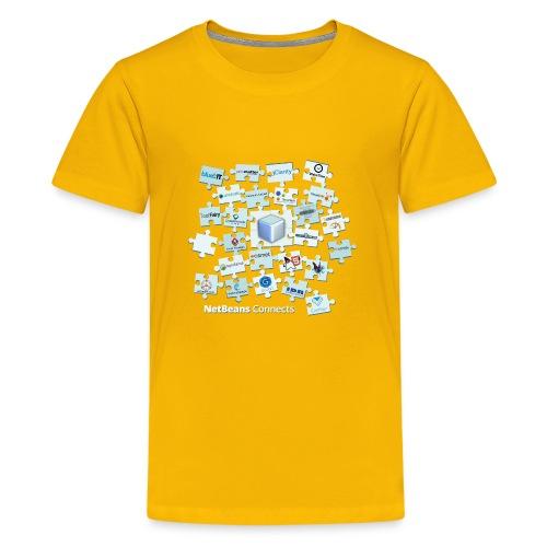 NetBeans Connects - Kids' Premium T-Shirt