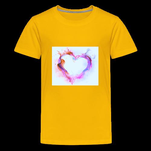 Heart of fire - Kids' Premium T-Shirt