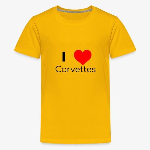 I luv Corvettes - Kids' Premium T-Shirt