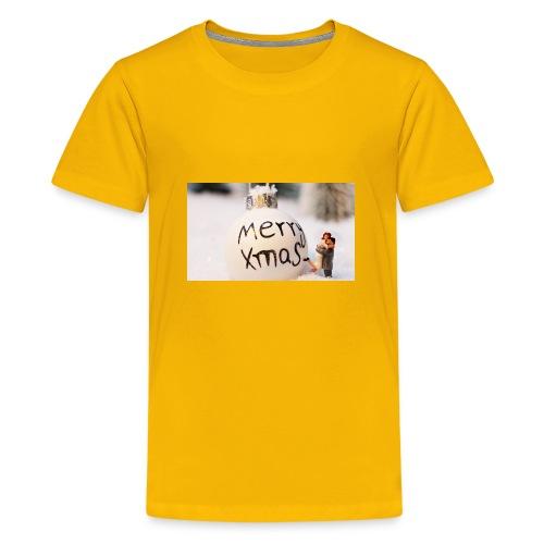 christmas bauble 1872135 960 720 - Kids' Premium T-Shirt