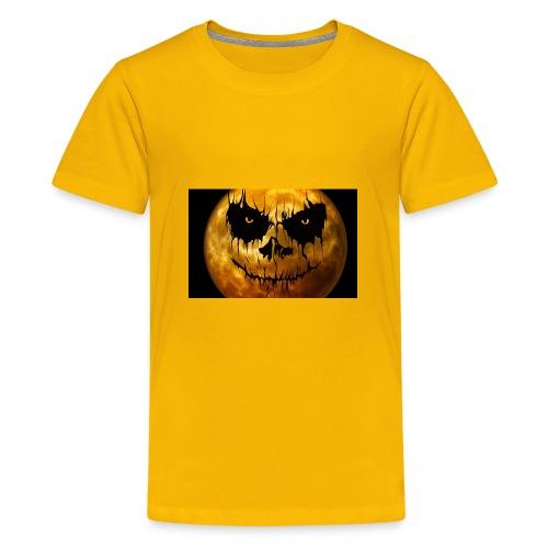 moon for halloween - Kids' Premium T-Shirt