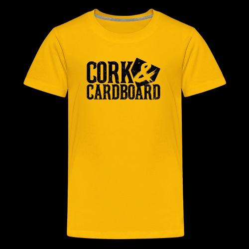 Cork & Cardboard - Steel City - Kids' Premium T-Shirt
