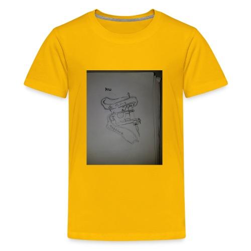 Tattoo Machine Hoodiez - Kids' Premium T-Shirt