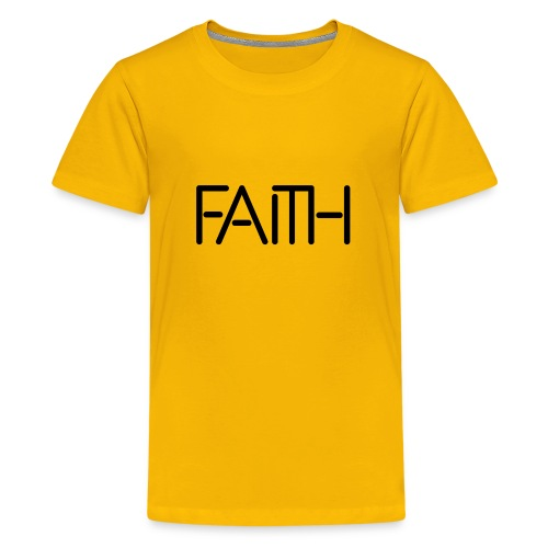 Faith tshirt - Kids' Premium T-Shirt