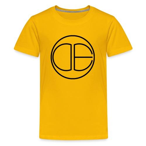 DE Logo - Kids' Premium T-Shirt