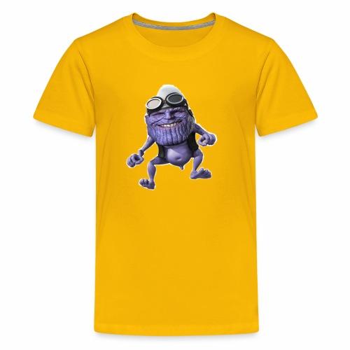 purple frog - Kids' Premium T-Shirt