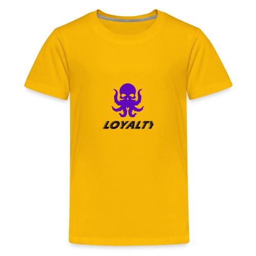 Loyalty Speed Text actoskull - Kids' Premium T-Shirt