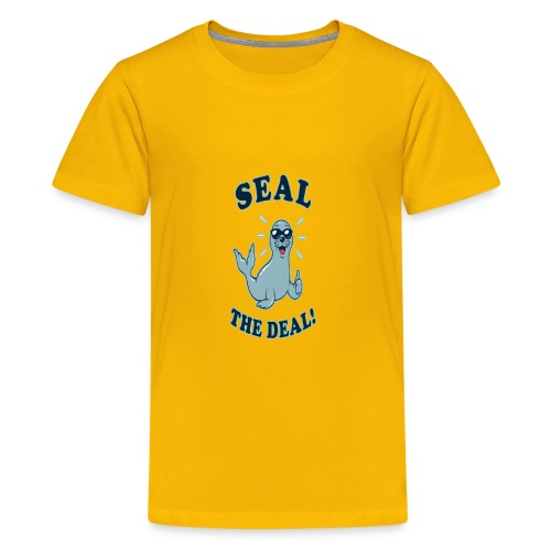 Seal the deal - Kids' Premium T-Shirt