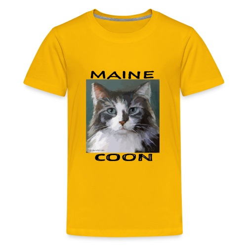 Maine Coon Cat - Kids' Premium T-Shirt