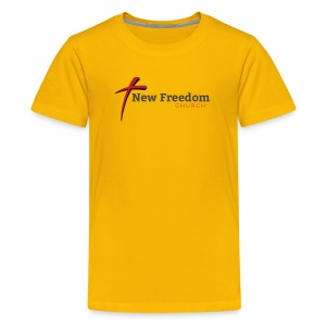 New Freedom Church OFFICIAL LOGO - Kids' Premium T-Shirt