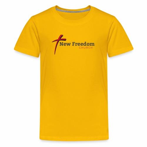 New Freedom Church OFFICIAL LOGO - Kids' Premium T-Shirt