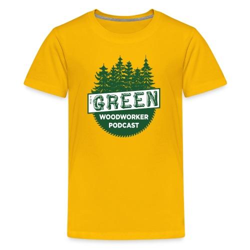 The Green Woodworker Podcast - Kids' Premium T-Shirt